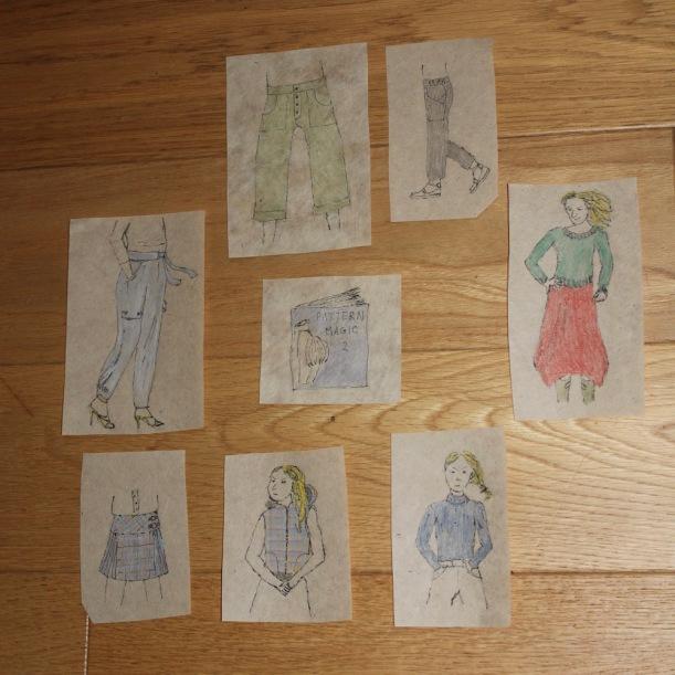 Make Nine 2021 Drawings